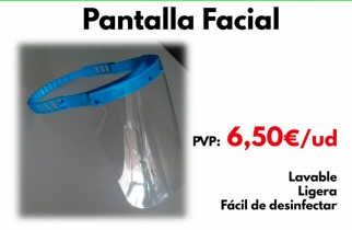 PANTALLA PROTECCION FACIAL