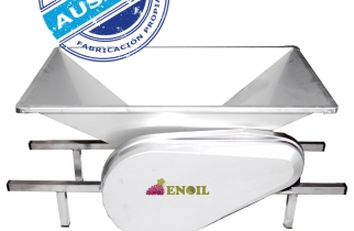 ESTRUJADORA MANUAL ENOIL EEI 63100 PA ACERO INOXIDABLE