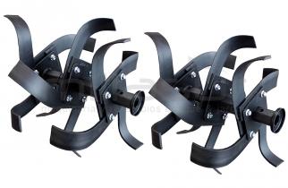 JUEGO DE CUCHILLAS GRANDES COMPLETO (26,5cm /4cm) MC500 / MC507