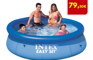 PISCINA HINCHABLE INTEX EASYSET CLEARVIEW